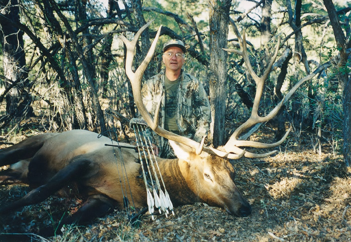 This bull would not have been possible without a great guide, Bill King.