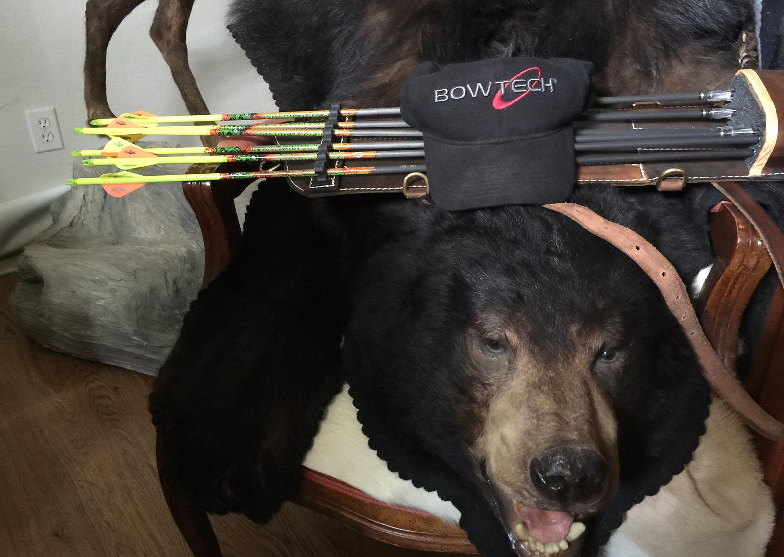 Rick Philippi shows us his 2016 bowhunting equipment.