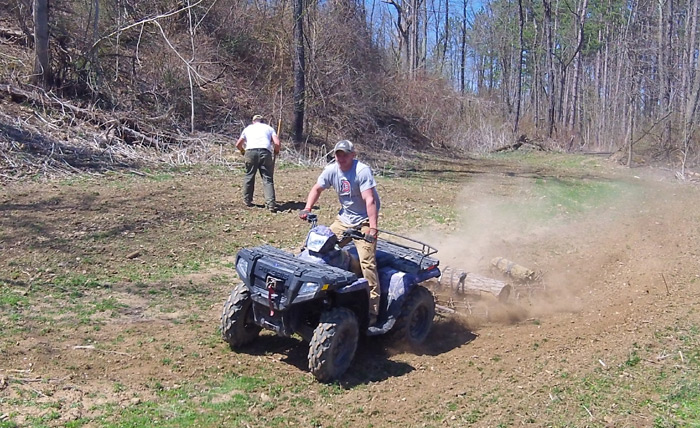 You can't do much without an ATV.