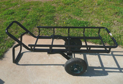 Tilt-N-Go: Hitch Hauler, Game Cart and Trailer All In One
