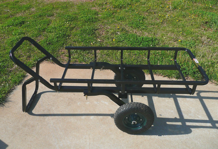 The Viking Solutions Tilt-N-Go: Hitch Hauler, Game Cart and Trailer All In One