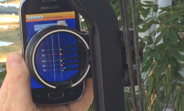 With the Uno Archery App bowhunters can quickly and easily get dialed in at long distances.
