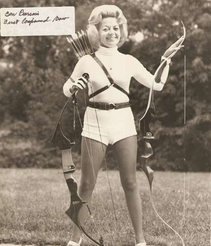 Ann Clark the ultimate Lady Archer.