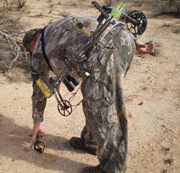 Don't Lug Your Bow: CLAW it With the Hand's Free Bow Carrier