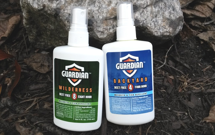 Gear Review: Mosquitoes and Ticks and Flies? Guardian Repellents
