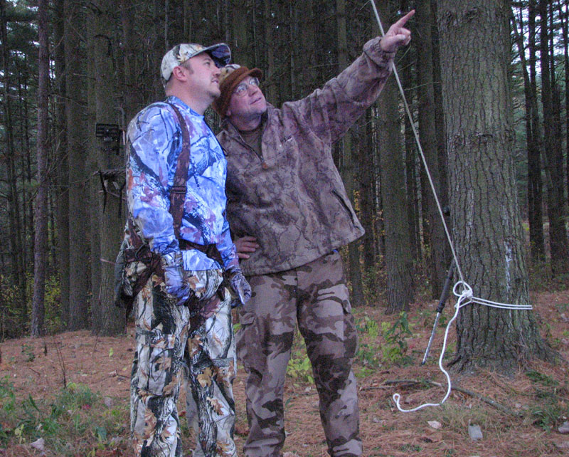 Outdoor writer, videographer, wildlife biologist, deer expert treated his clothing with Atsko the other fellow didn't. Can deer tell? You bet.