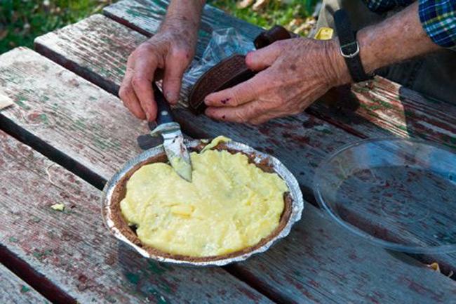 Campers Almond Joy Chocolate / Coconut Pie Recipe
