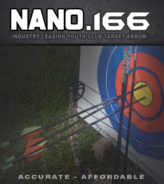 Give your Club Shooters the Edge with the Carbon Express Nano.166