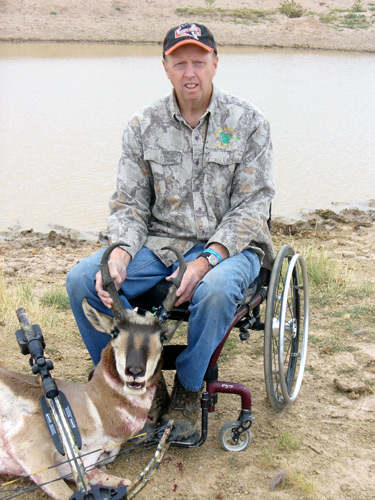 Bowhunting Wyoming Antelope
