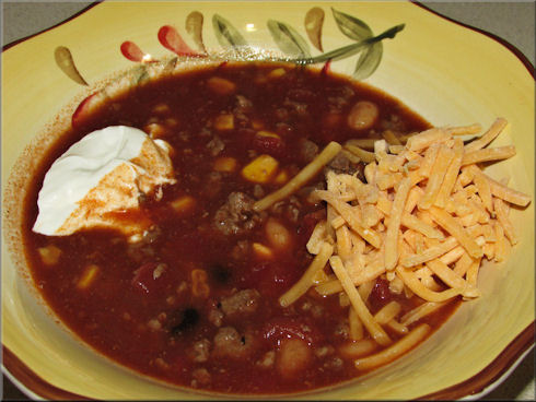 Cooking with SusieQ: Venison Taco Soup