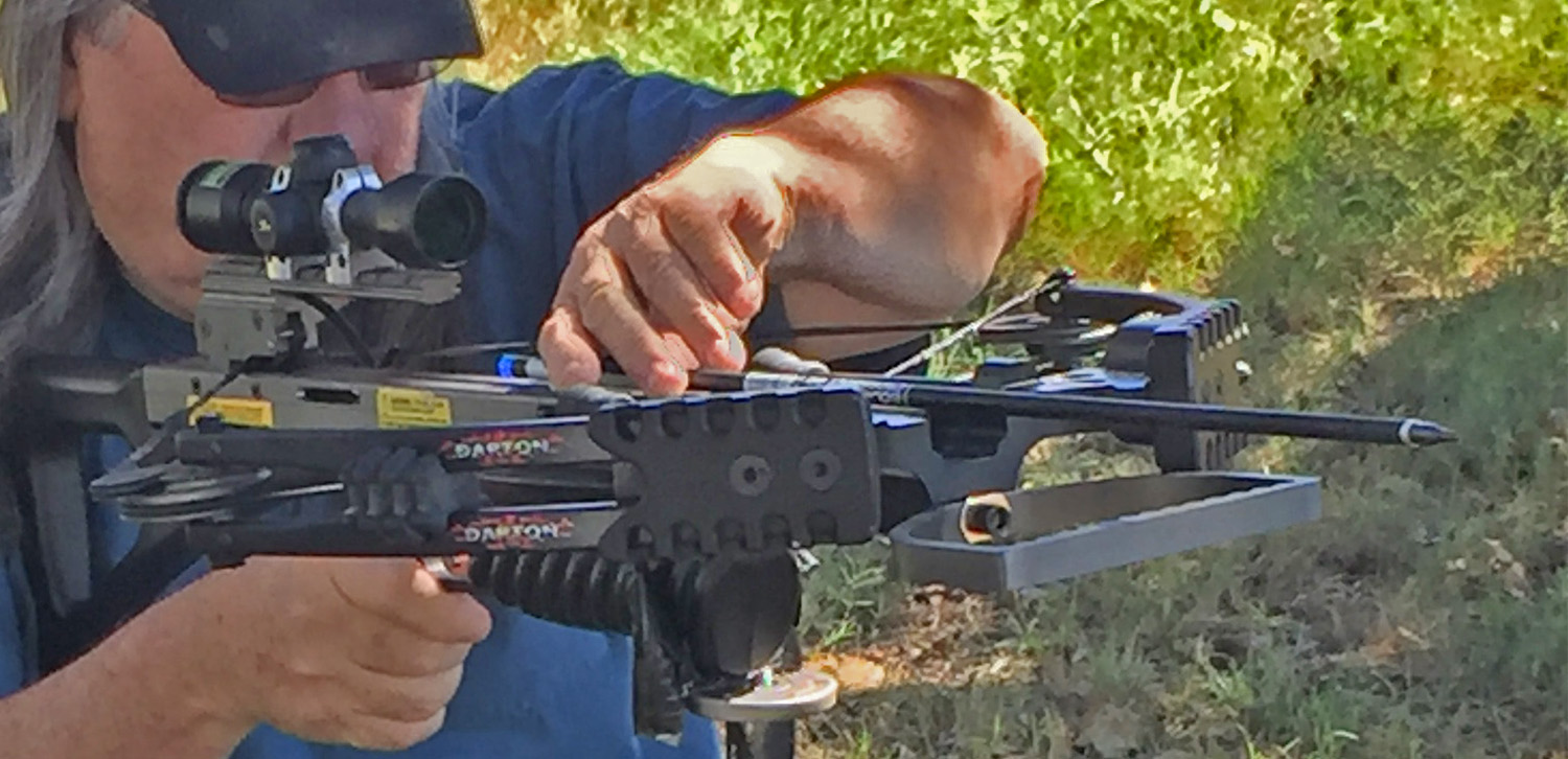 Darton Scorpion crossbow bowhunt with robert hoague