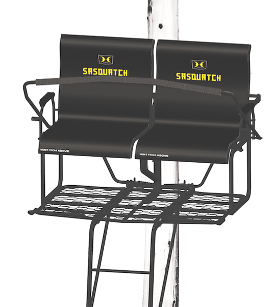 New 'Beast of the Woods' from Hawk Hunting-2 Man Sasquatch Treestand