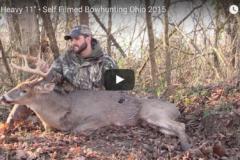 VIDEO: Self Filmed Ohio Bowhunter bags big 11-point