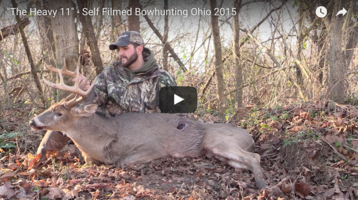 VIDEO: Self Filmed Ohio Bowhunter bags big 11-point