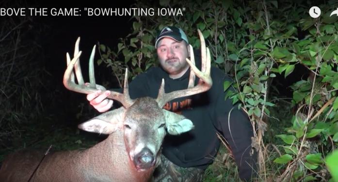 VIDEO: Bowhunting Big Iowa 11-Point