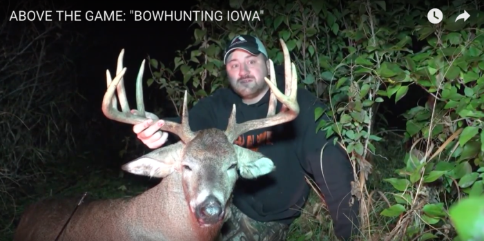 VIDEO: Bowhunting Big Iowa 11-Point