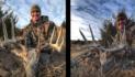Huge Buck Arrowed: Antlers Fall Off!