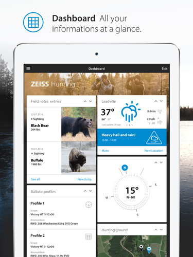 Zeiss Announces New Mobile Hunting & Shooting App