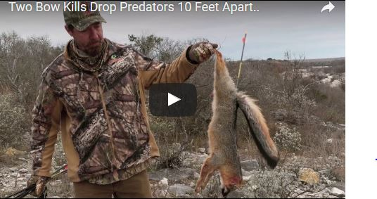 Tim Wells of 'Relentless Pursuit' Calls in and Drops 2 Predators