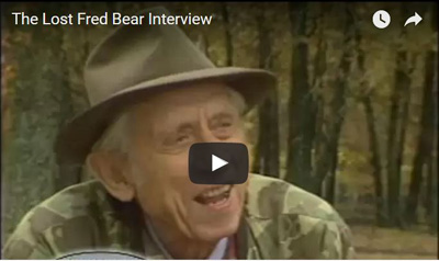 Fred Bear: The Lost Interview