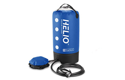 GEAR ALERT: HELIO PRESSURE SHOWER FOR CAMPING