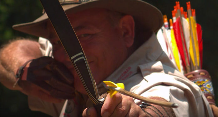 'ARCHERS PARADOX' IN SLOW MOTION