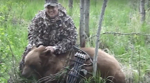 Bowhunting Alberta Bears