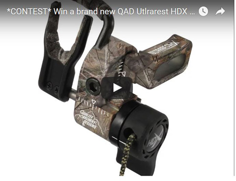 CONTEST: Win A QAD Utlrarest HDX Drop Away Arrrow Rest from Outdoor Product Review