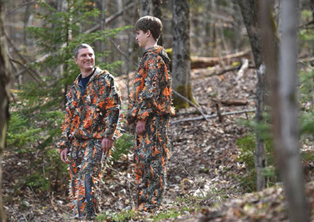 New Hunting Camo Rethinks Hunter Safety