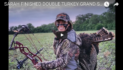 Bomar Bowhunting: Sarah Gets A Double Grand Slam