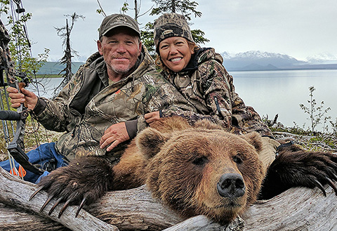Cindy Lavender: Brown Bear Down
