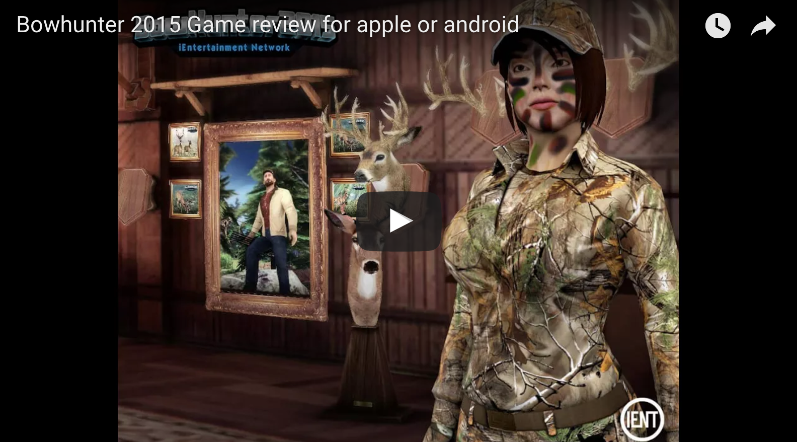Mobile Bowhunting Gane by IENT