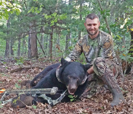 .45 Caliber Round Found in Bear's Skull