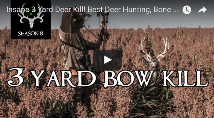 3 Yard Bow Kill!