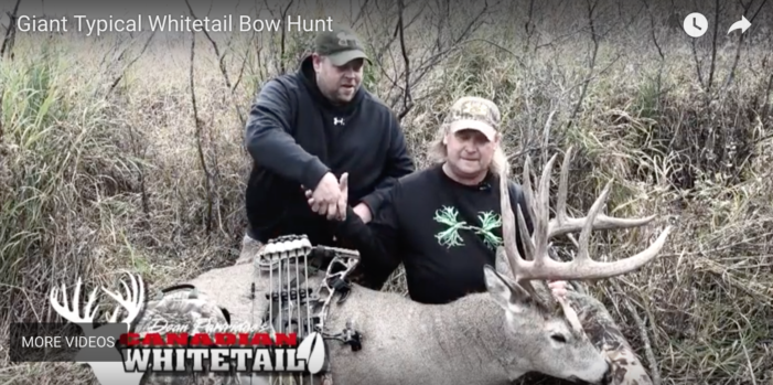 VIDEO: Giant Canadian Buck
