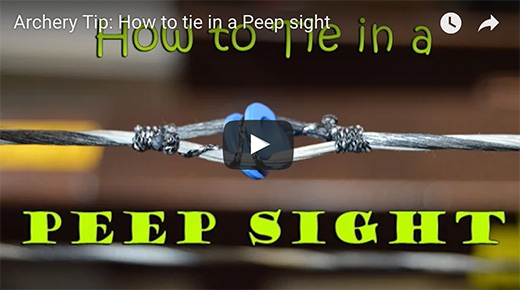 PEEP SIGHT, HOW TO…