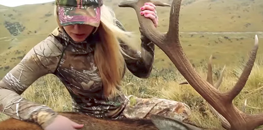 Girls Go Midwest Bowhunting