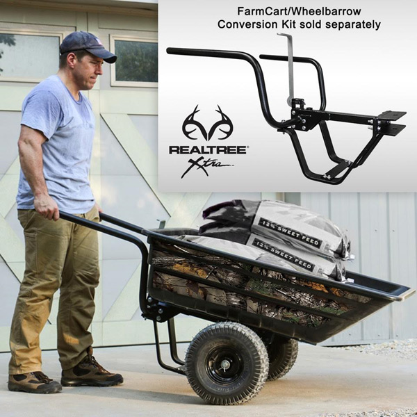 Hang Your Stands With the Realtree Half-Ton Hauler by OxCart