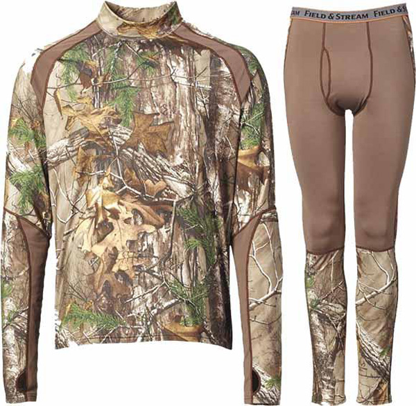 Keep Warm and Comfortable With Field & Stream Base Layers