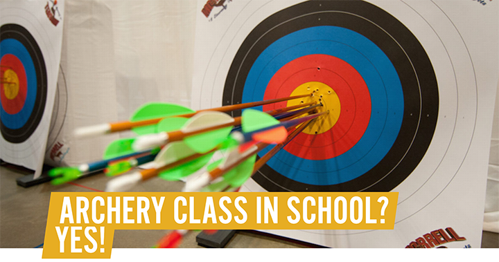 Archery Classes In Schools