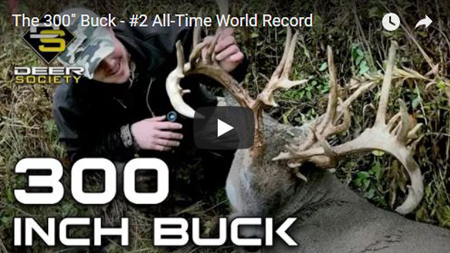 The 300″ Buck – #2 All-Time World Record