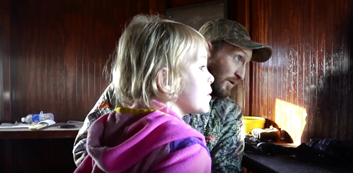 josh kinser has tips for hunting with kids