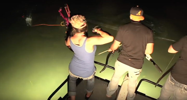 MELISSA BACHMAN: BOWFISHING TIPS