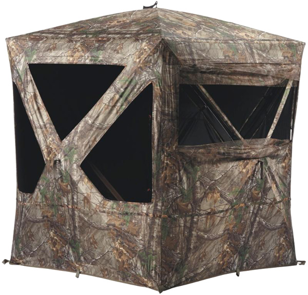 Hunt Safely and Concealed in Field & StreamTreestands and Ground Blinds