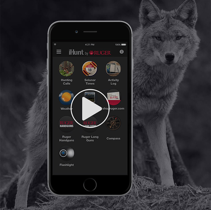 iHUNT game call app for smartphones