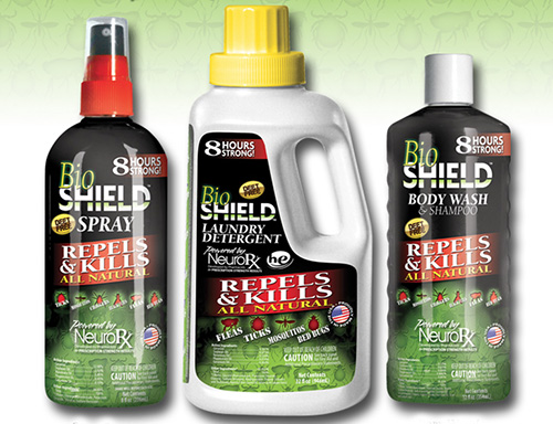 BioShield Repels And Kills Biting Insects