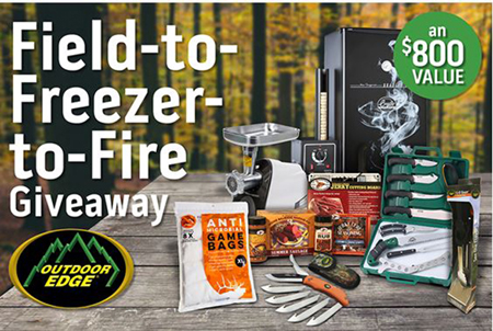 Win an $800 Prize Package from Outdoor Edge and Others