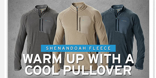 Get Warm With PNUMA Fleece