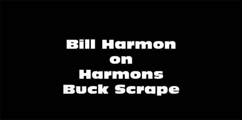 Harmon Buck Scrape