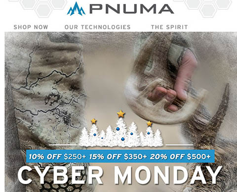 PNUMA: Cyber Monday Continues